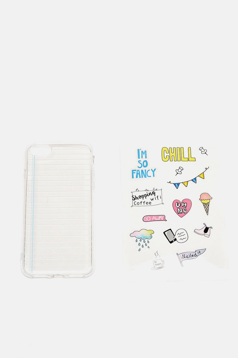 Do It Yourself iPhone 7 Case, Transparent