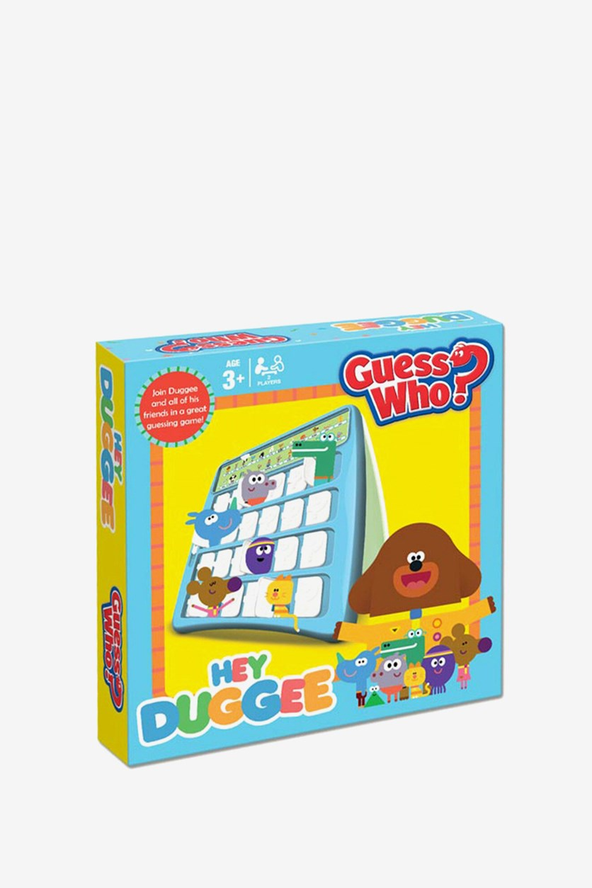 Hey Duggee Guess Who  Games, Yellow/Blue