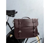 Men's Shoulder Bag, Dark Brown