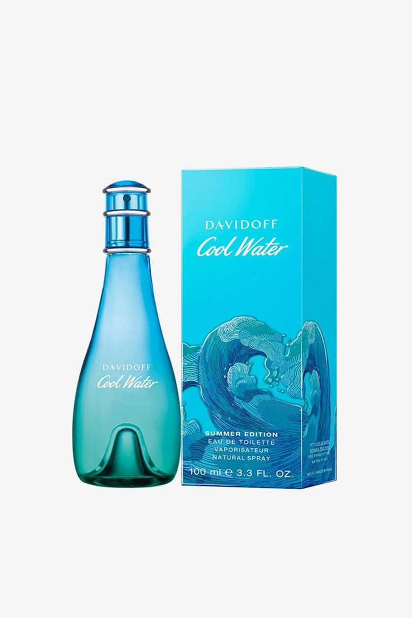 Women's Cool Water Summer Edition 2019, 100ml