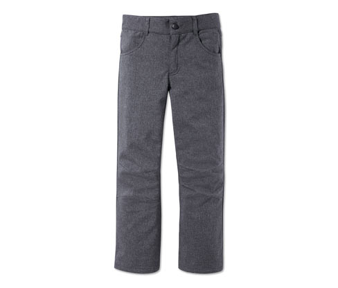 Girl's Softshell Trousers, Grey