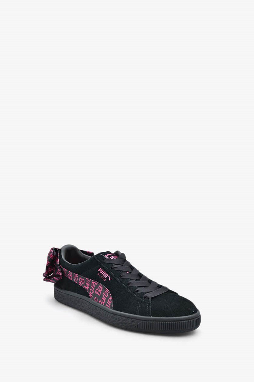 Women's Suede Classic X Barbie No Doll Shoes, Black