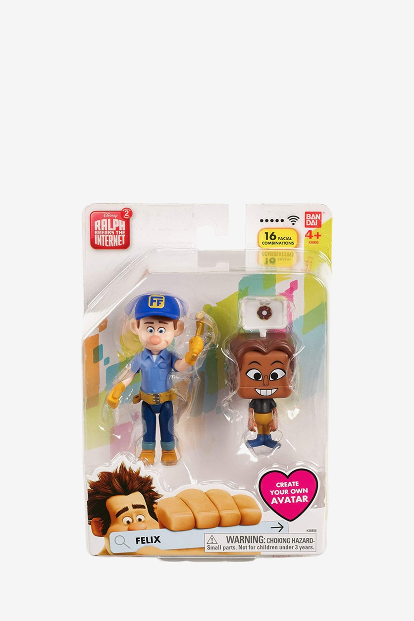 Felix Ralph Breaks The Internet Figure, Blue Combo