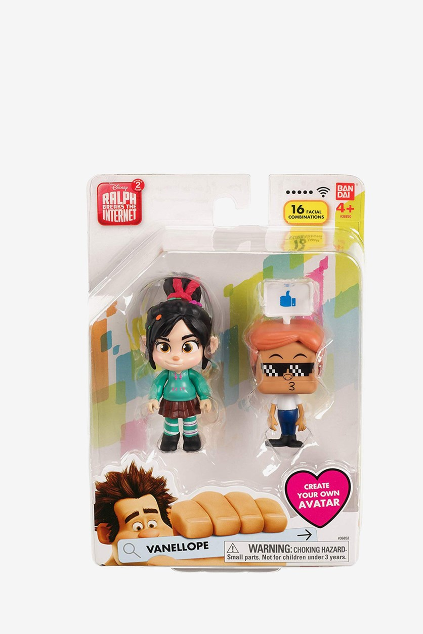 Vanellope Ralph Breaks The Internet Figure, Green Combo
