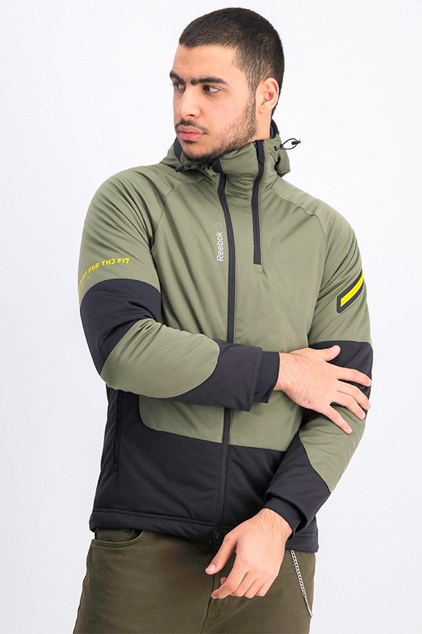 Men's Jacket, Olive/Black