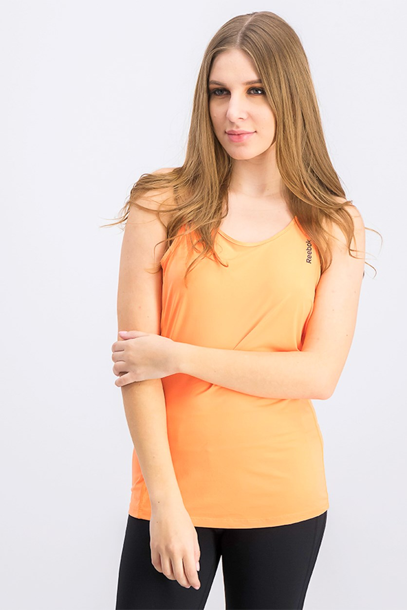 Women's One Series Tank, Orange