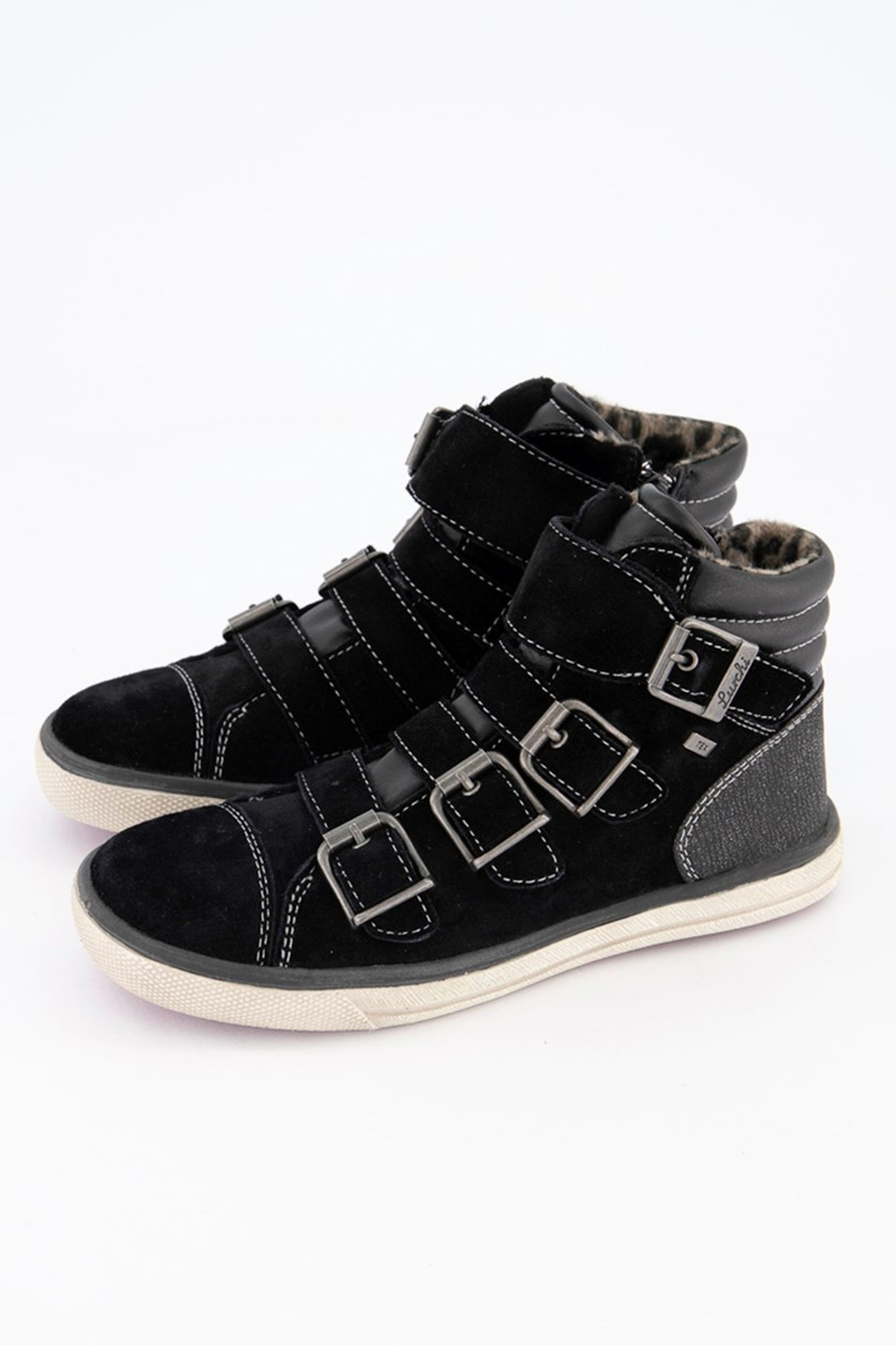 Kids Girls Sammy III-L Formsohle Shoes, Black