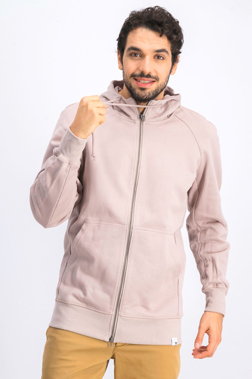 Men's Full Zip Hoodie Jacket, Vapgrey