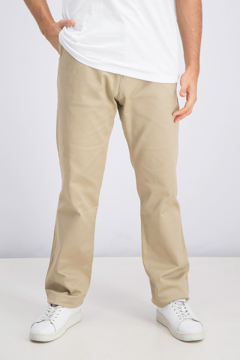 Men's Chino Pants, Beige