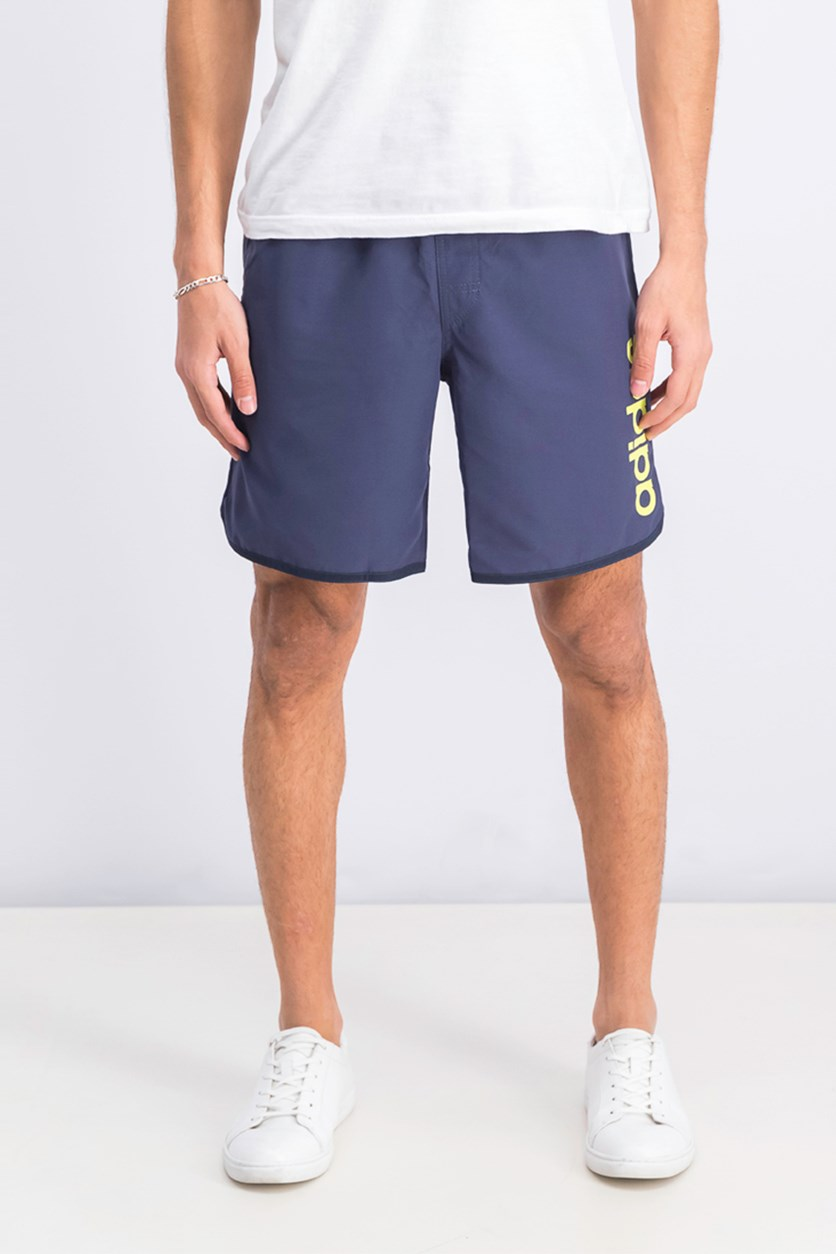 Men's Split Swimwear Short, Navy