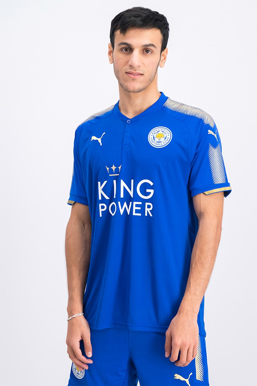 Men's Leicester Adults Home Shirt, Royal Blue