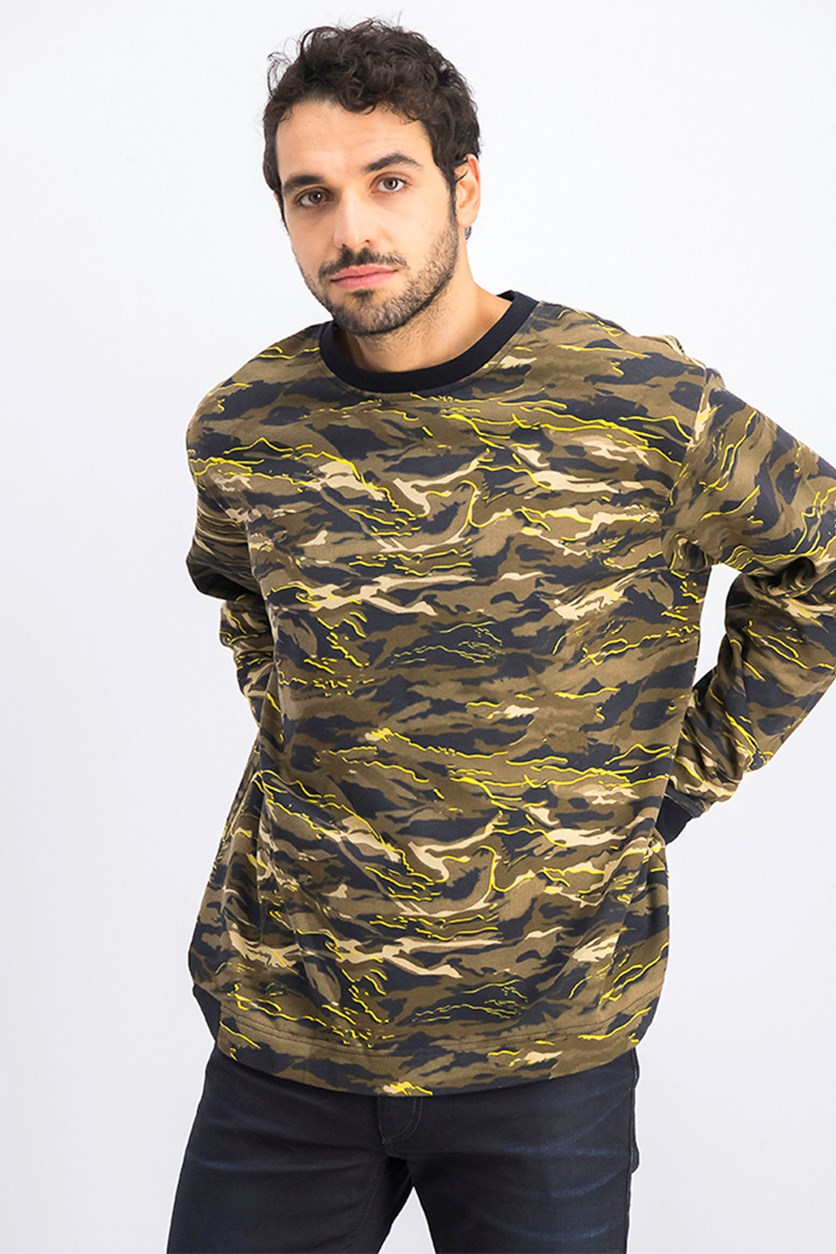 Men's X X0 The Weekend Sweatshirt, Black Camo Aop