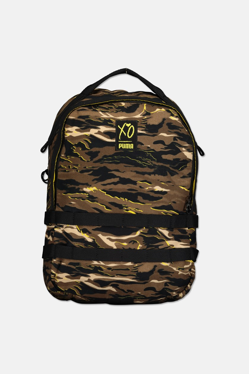 Unisex Xo Backpack, Brown Combo