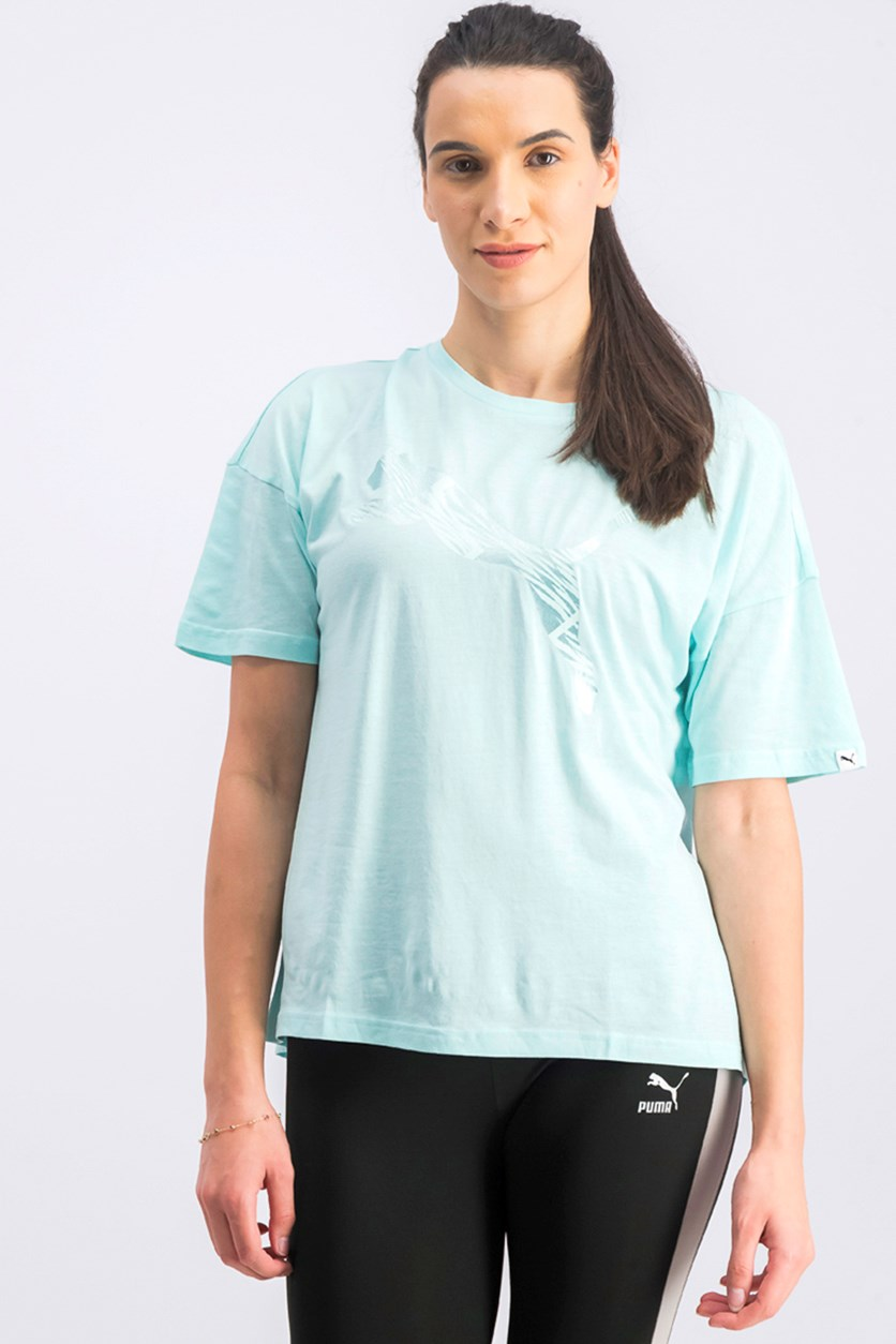 Women's Fashion Tee, Island Paradise