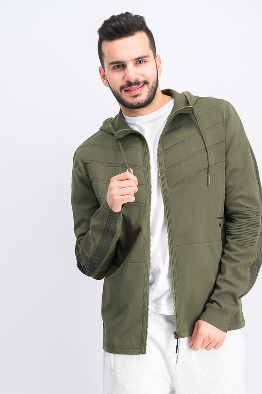 Men's EvoKnit Infinite Jacket, Olive Night