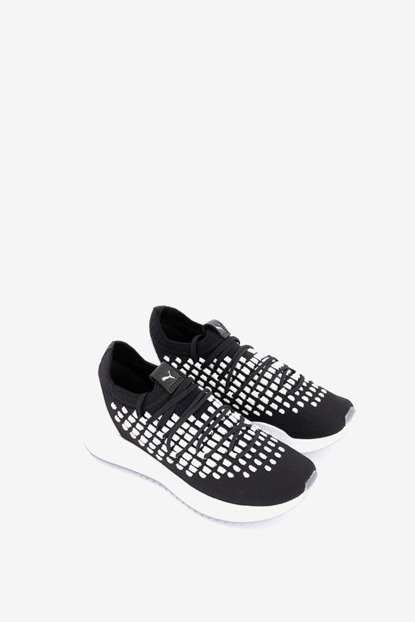 Men's Avid Fusefit Sneakers, Black/White