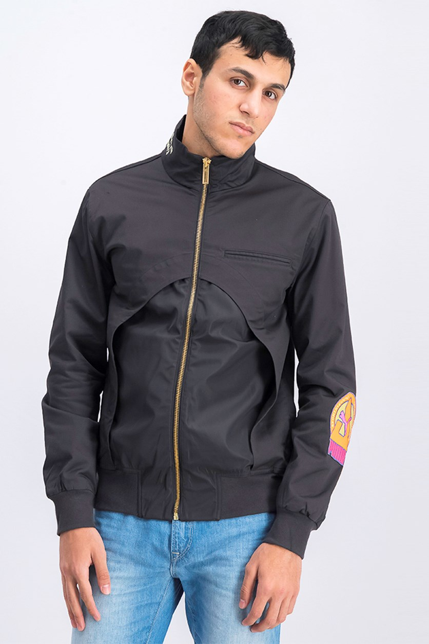 Men's Han Track Jacket, Black