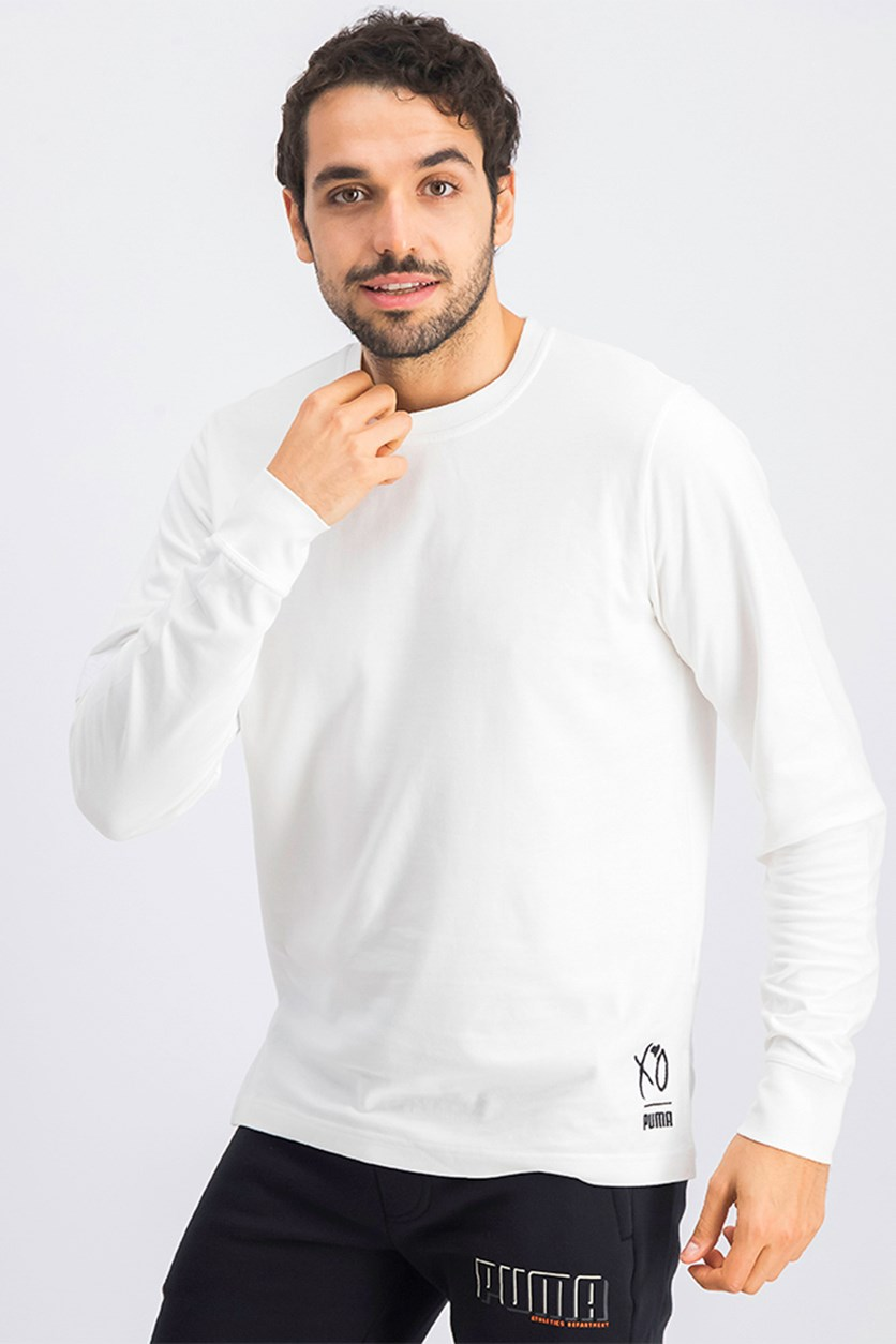 Men's XO Sweater, White