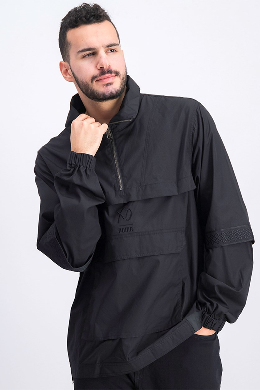 Men's XO Half Zip Jacket, Black