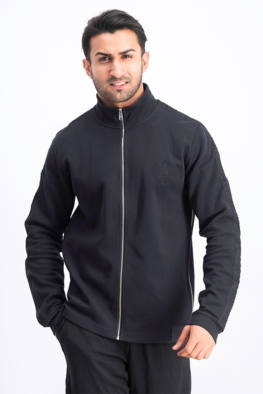 Men's XO Track Jacket, Black