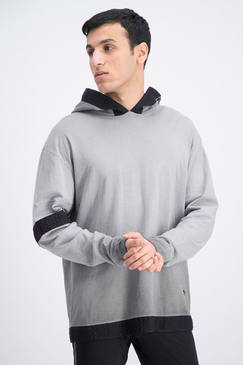 Men's XO By The Weekend Washed Hoodie, Asphalt