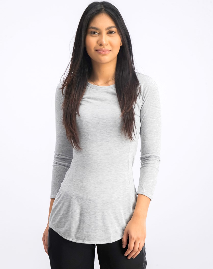 Women's Supernova Pure Tunic, Medium Grey Heather