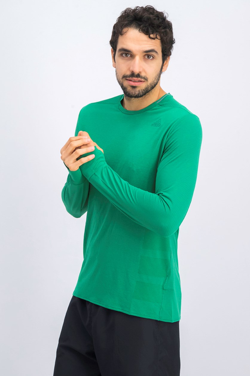 Men's Supernova Running Tee, Green