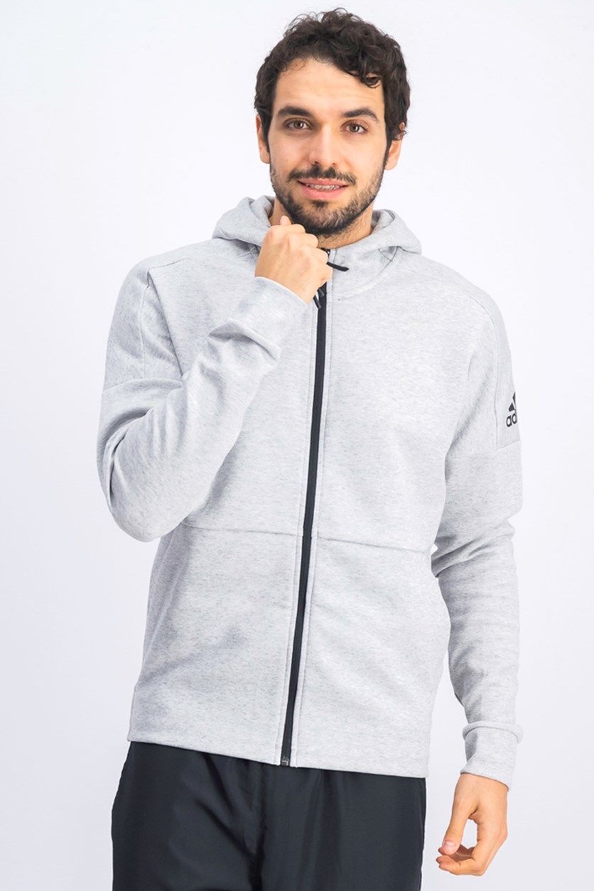 Men's Staddium Track Jacket, Light Grey