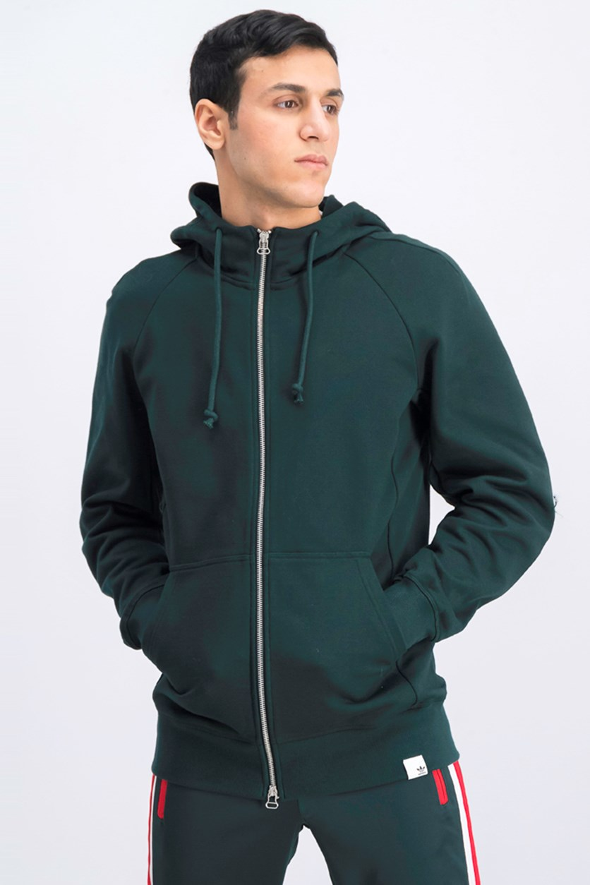 Men's X By O Full Zip Hoodie, Green