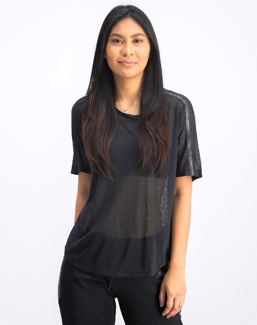 Women's Ready To Go Tee, Black