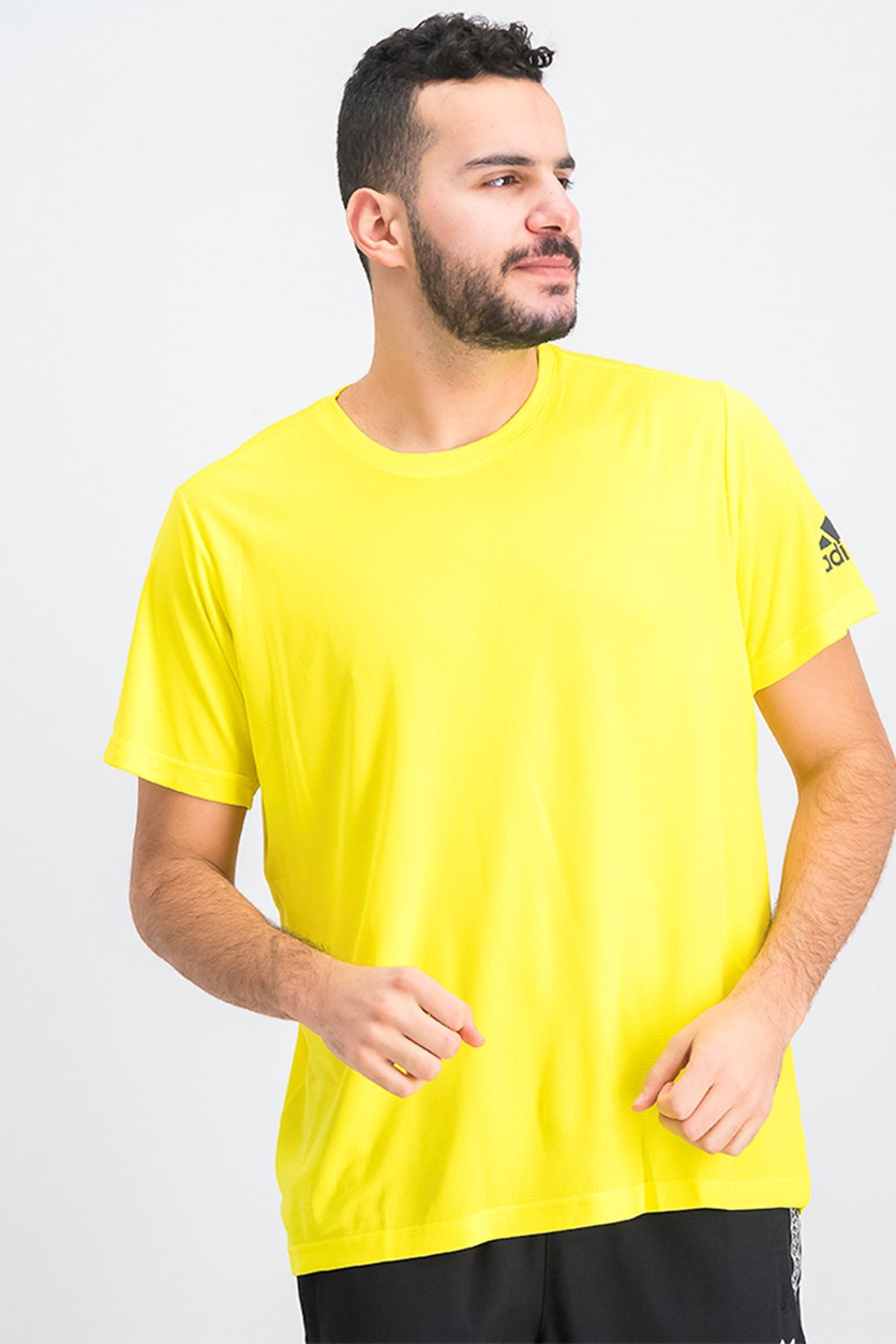 Mens FreeLift Climachill T-Shirt, Yellow