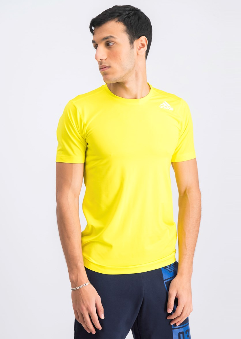 Men's Fit Training T-Shirt, Yellow