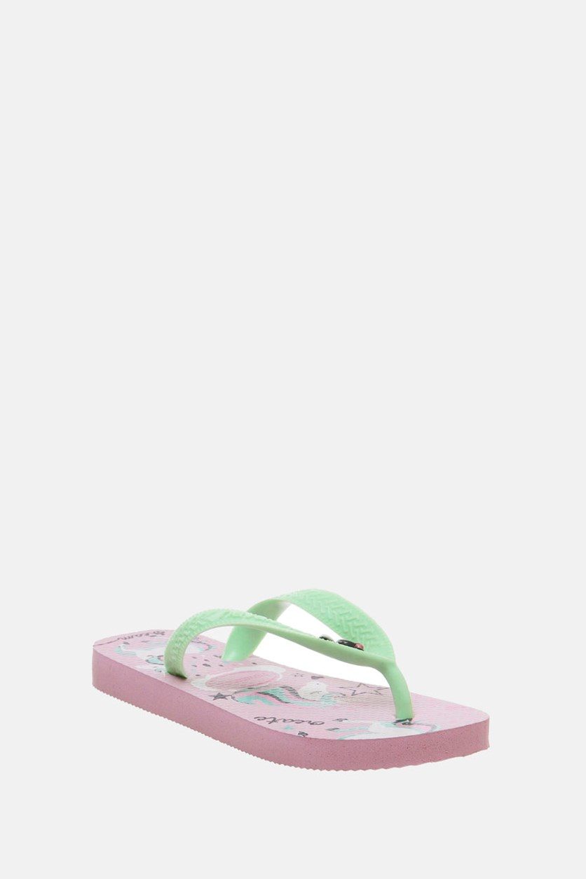 Women's Flip Flop Slipper, Rose Quartz