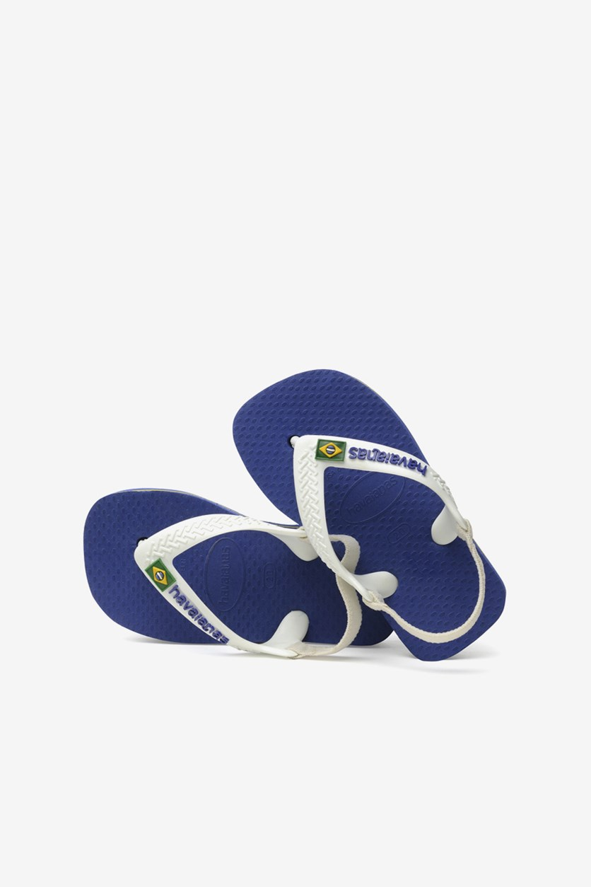 Baby Boy's Sling Slipper, Marine Blue