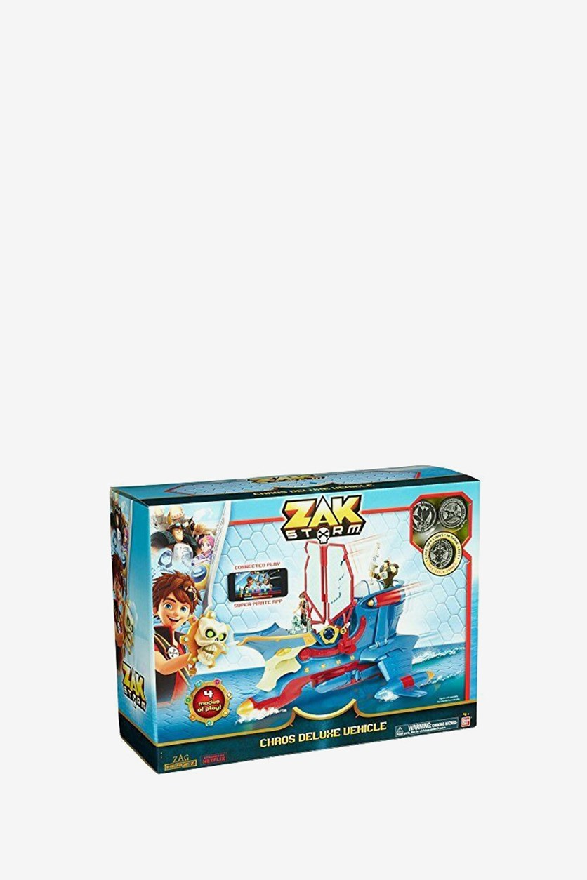 Zak Storm DX Vehicle, Blue Combo