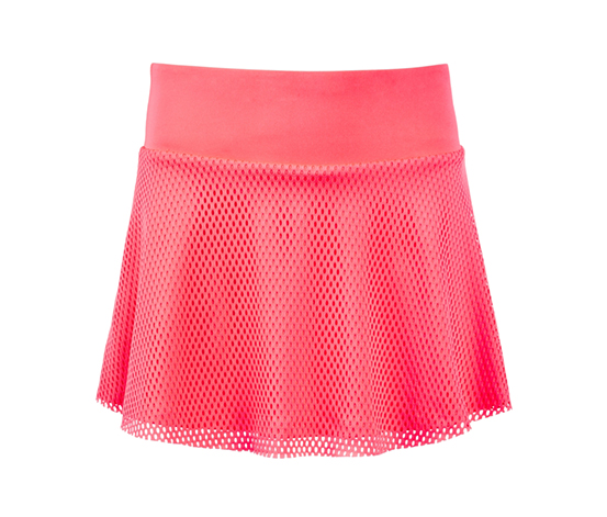 Ideology Big Girls Plus Mesh Skirt, Flamingo Pink