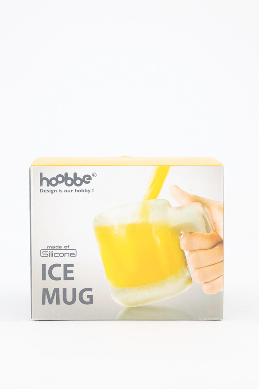 The Make Your Own Ice Beer Mug, Blue