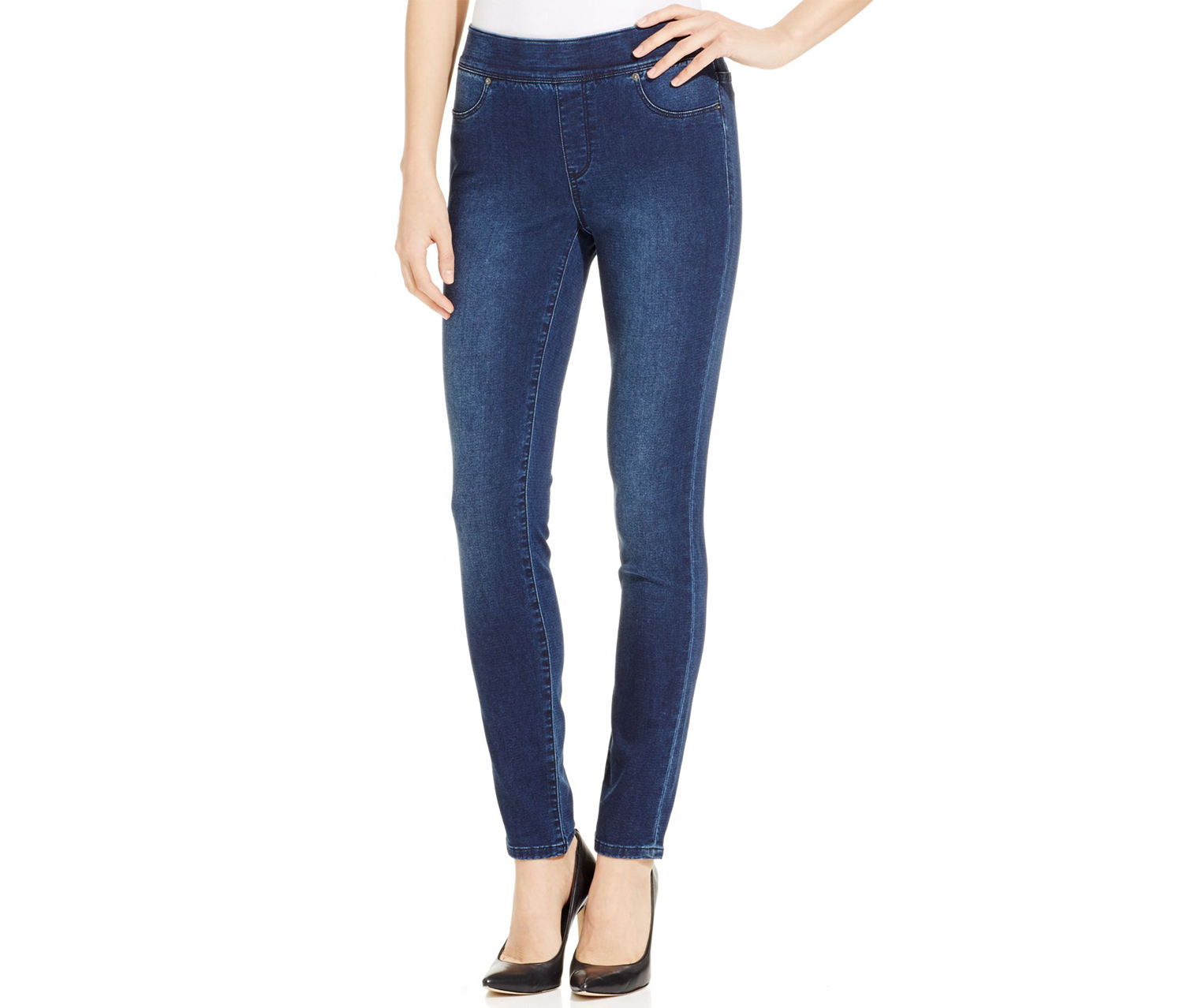 Calvin Klein Jeans Super Soft Denim Jeggings, Midnight Wash