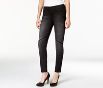 Calvin Klein Jeans Skinny Washed Down Jeggings, Black