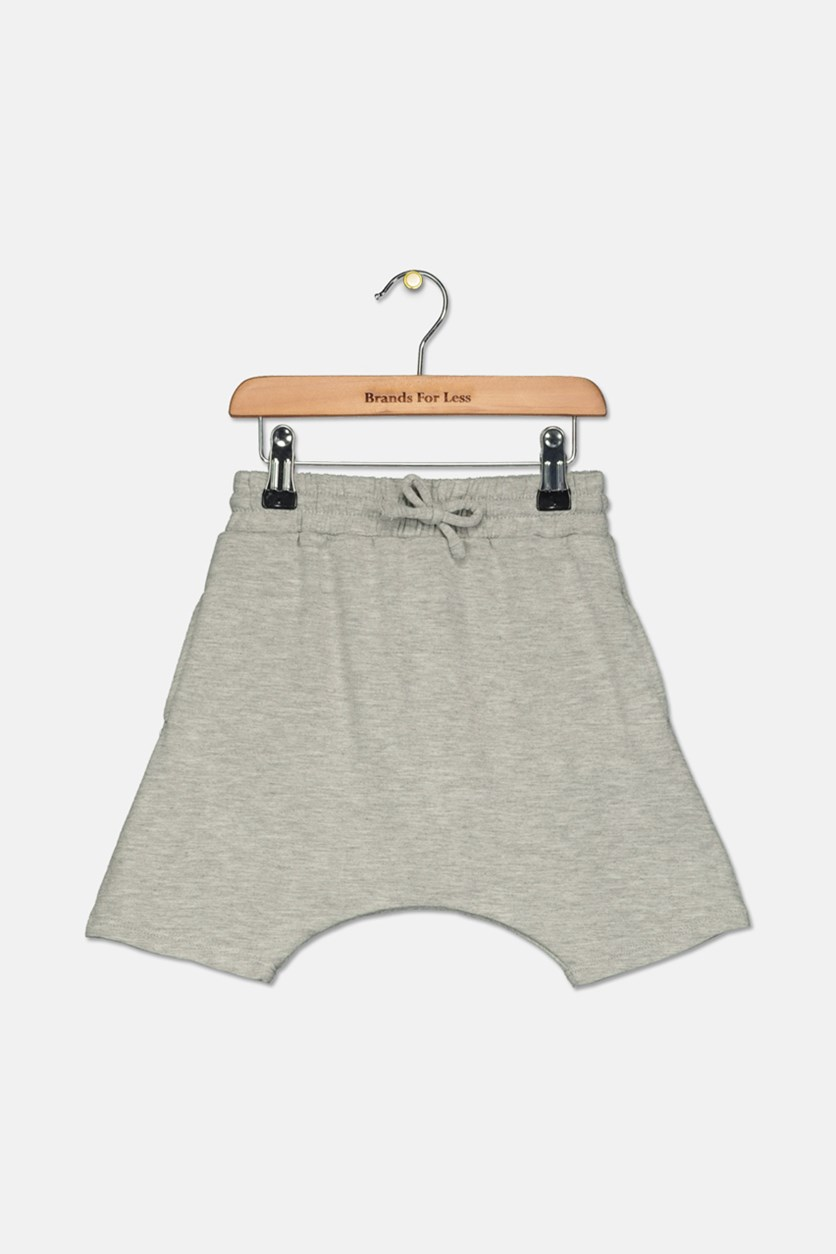 Toddler Boys Jogger Shorts, Gray