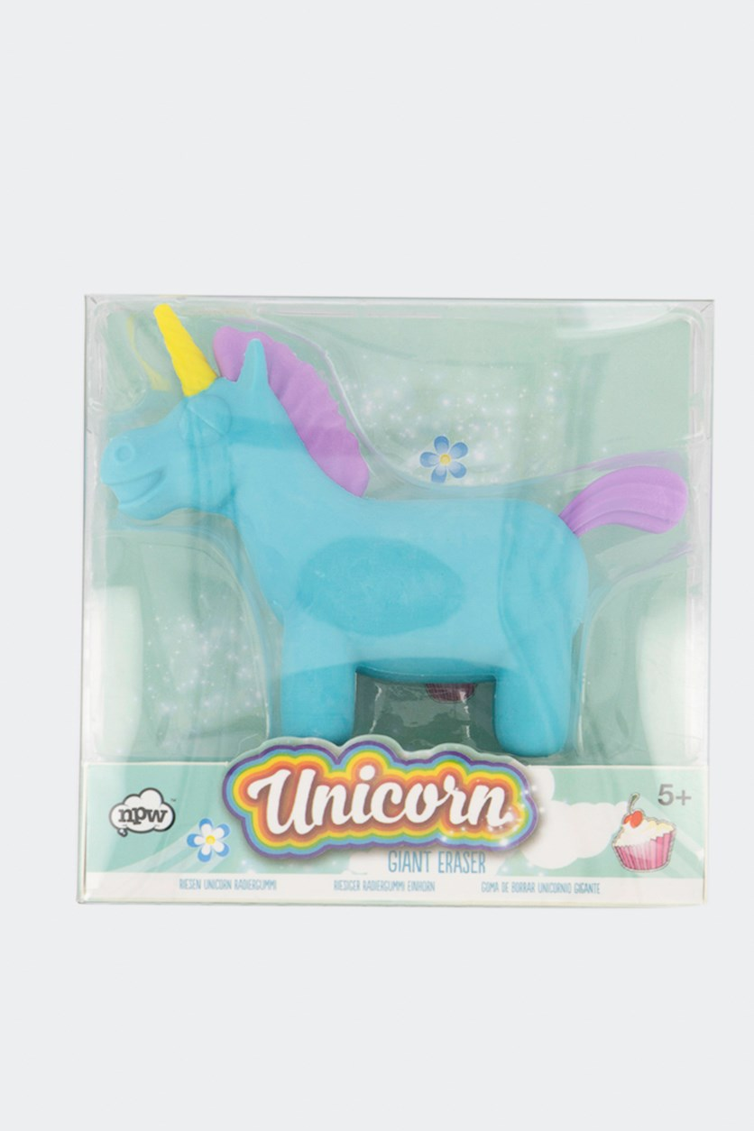 Unicorn Giant Eraser, Aqua