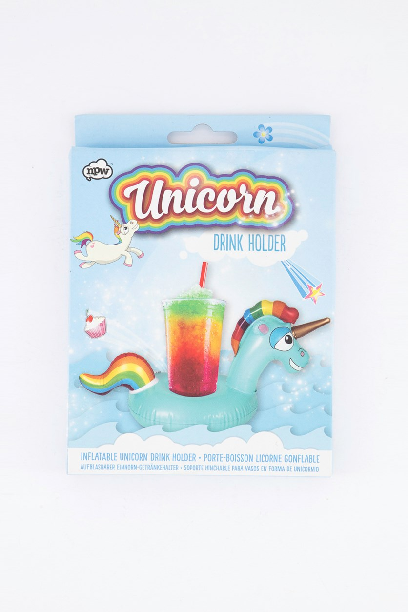 Unicorn Drink Holder, Blue