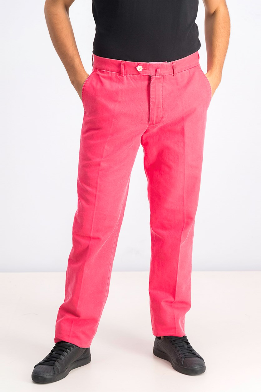 Men's Pants, Red