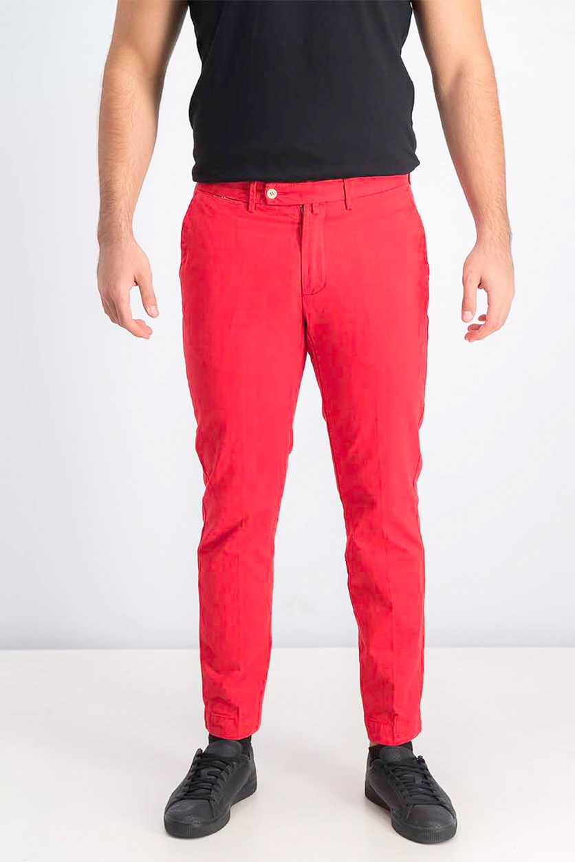 Men's Chino Pants, Coral