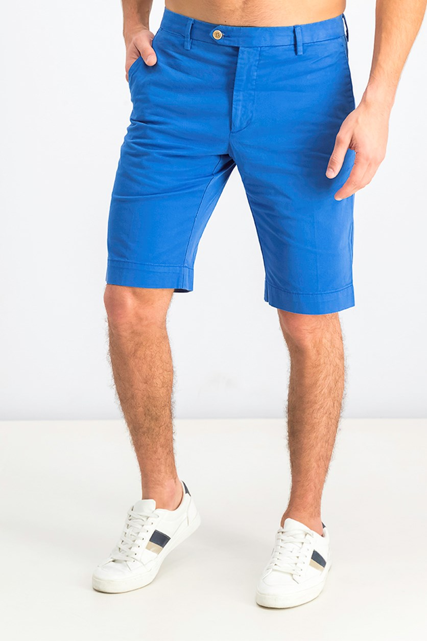 Men's Chino Short, Summer Blue