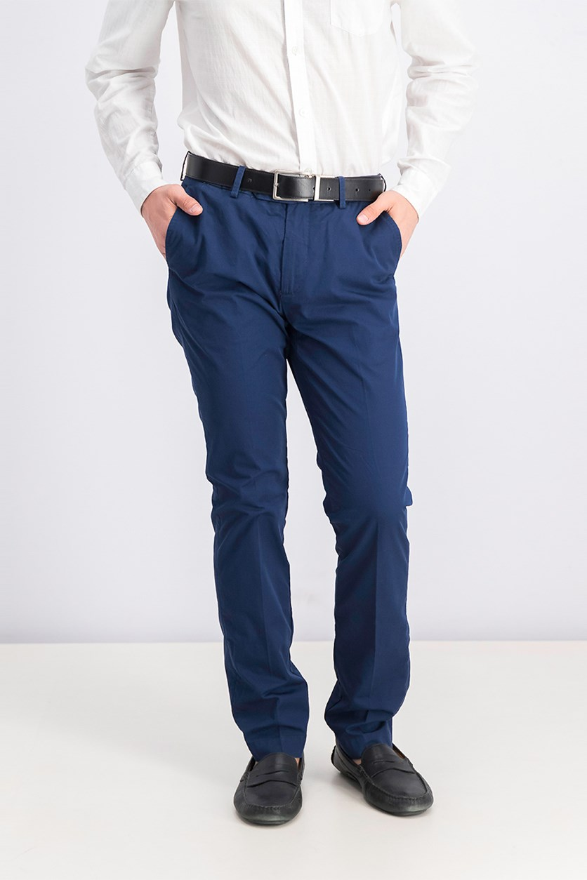 Men's Kensington Slim Pants, Navy