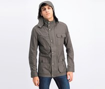 Men's Hooded Parka Jacket, Olive