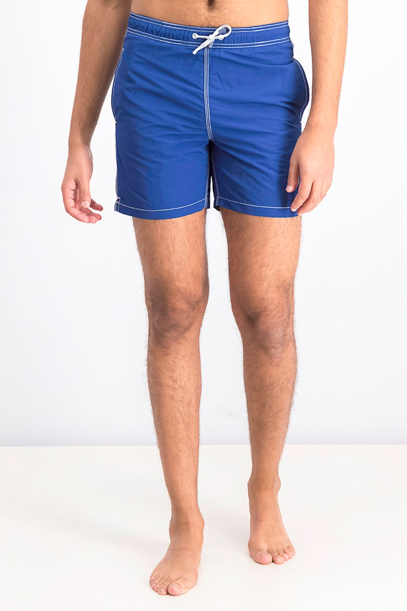 Men's Solid Volley Swim Short, Navy