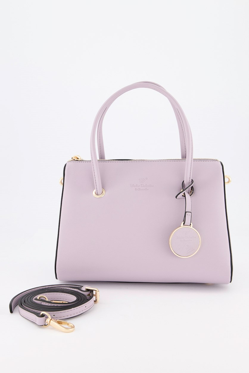 Women's Satchel Bag, Lavender