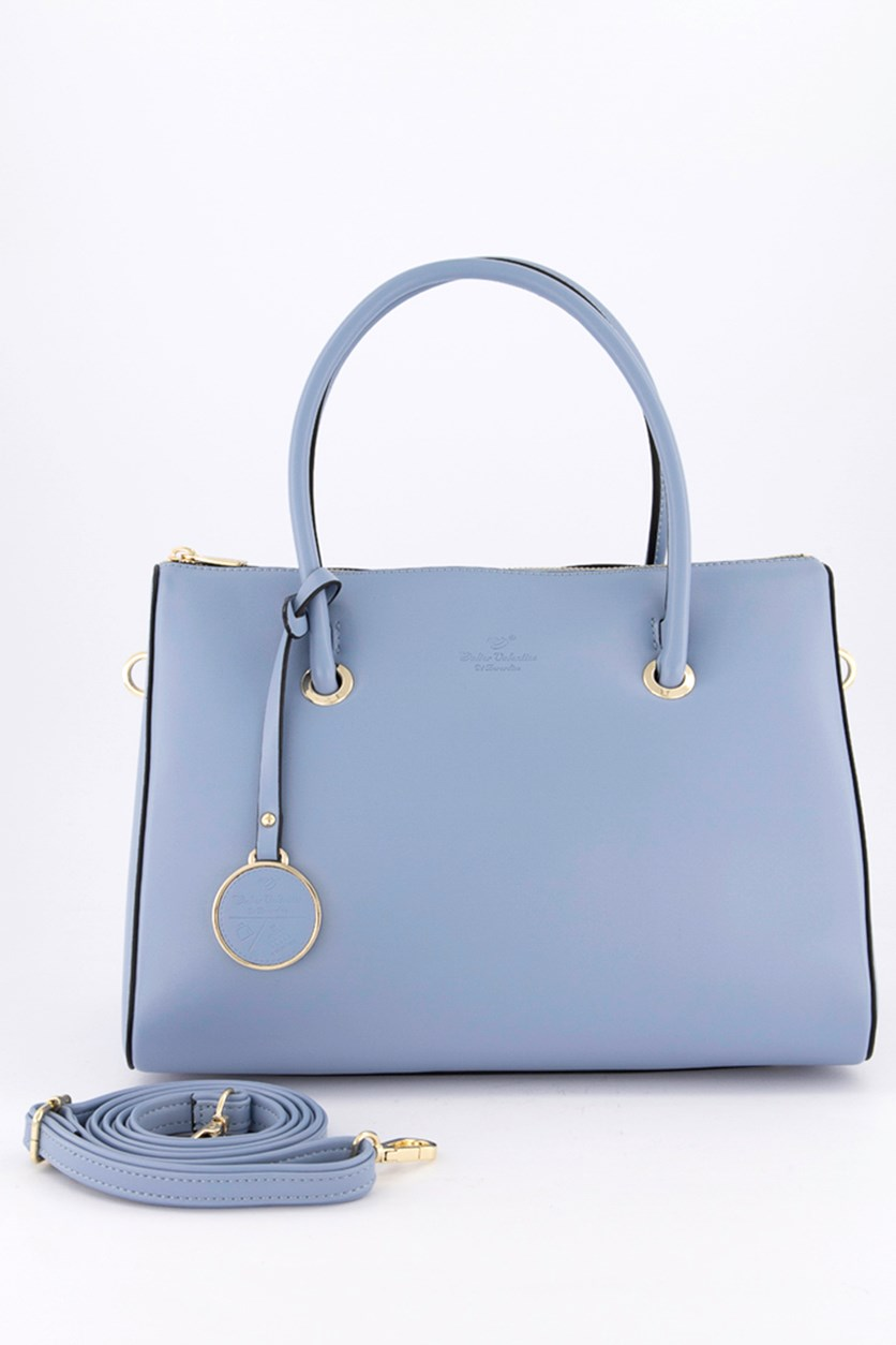 Women's Satchel Bags, Light Blue